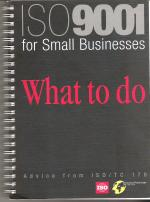 ISO 9001 for small business