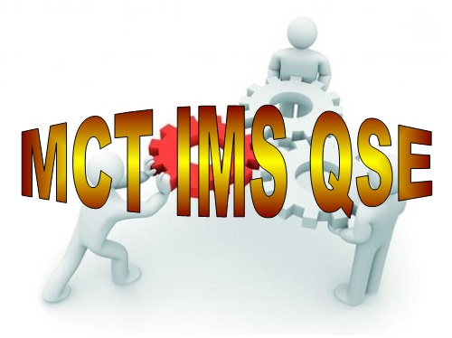 D 19 MCT, quizzes and case studies IMS QSE course